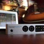 ConnectAUDIO 2/4 ofrece en un tamaño reducido todo para la producción musical.-