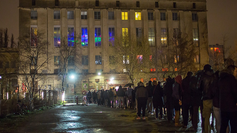 Berghain line up Halsnæs